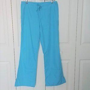 Cherokee Blue Scrub Pants